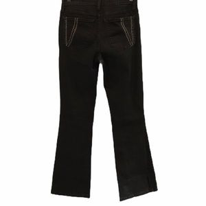 NYDJ jeans black high waisted size 4 bootcut